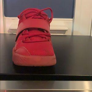 Jordan Shoes - Red Jordan lows